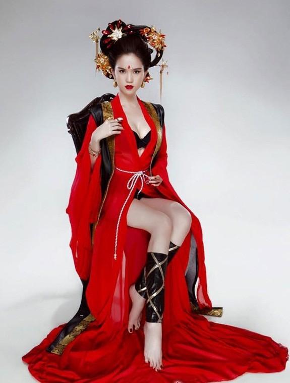 Ngọc Trinh bị chỉ trích gay gắt khi hóa thân thành Võ Tắc Thiên - anh 1