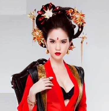 Ngọc Trinh bị chỉ trích gay gắt khi hóa thân thành Võ Tắc Thiên - anh 5