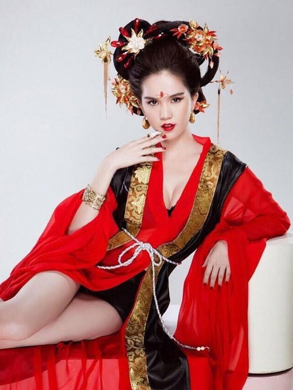 Ngọc Trinh bị chỉ trích gay gắt khi hóa thân thành Võ Tắc Thiên - anh 3