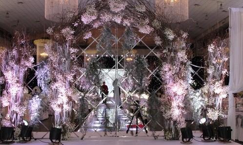 Khung cảnh tiệc cưới nguy nga như cung điện của Tâm Tít - anh 3