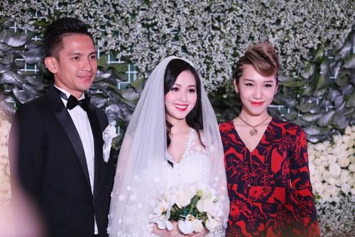 Tâm Tít vô cùng xinh đẹp và rạng rỡ trong đám cưới - anh 6