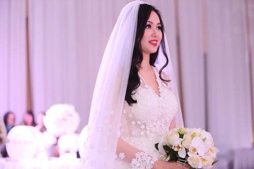 Tâm Tít vô cùng xinh đẹp và rạng rỡ trong đám cưới - anh 3