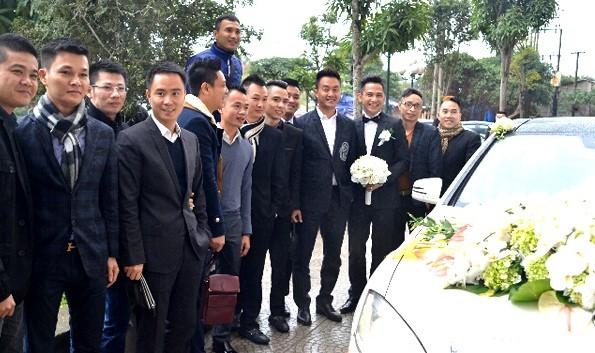 Toàn cảnh lễ rước dâu Tâm Tít - Ngọc Thành - anh 10