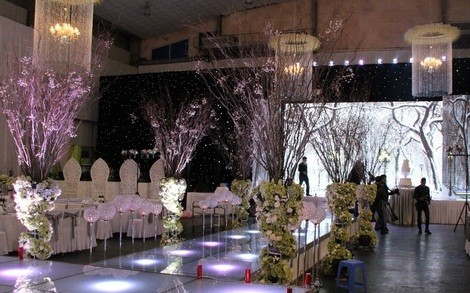 Khung cảnh tiệc cưới nguy nga như cung điện của Tâm Tít - anh 5