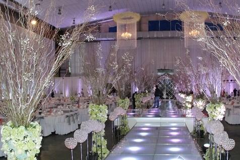 Khung cảnh tiệc cưới nguy nga như cung điện của Tâm Tít - anh 7