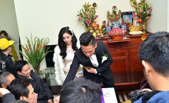 Toàn cảnh lễ rước dâu Tâm Tít - Ngọc Thành - anh 14