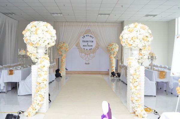 Toàn cảnh lễ rước dâu Tâm Tít - Ngọc Thành - anh 5