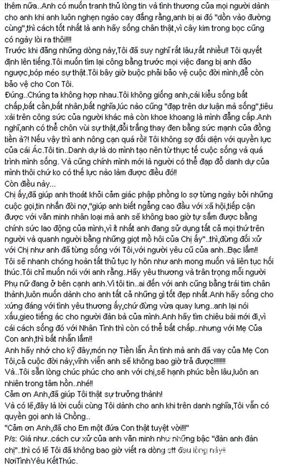 Lê Phương cay đắng viết tâm thư nói ra tất cả sự thật về con người Quách Ngọc Ngoan - anh 2