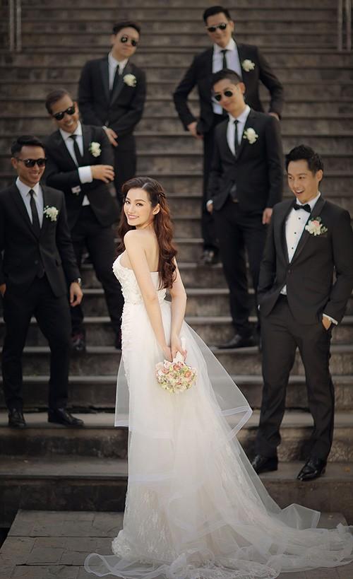 Toàn cảnh cưới độc nhất vô nhị của Hoa hậu Trúc Diễm - anh 2