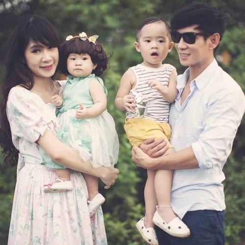 Vẻ đáng yêu của 3 thiên thần nhà Lý Hải - Minh Hà - anh 14