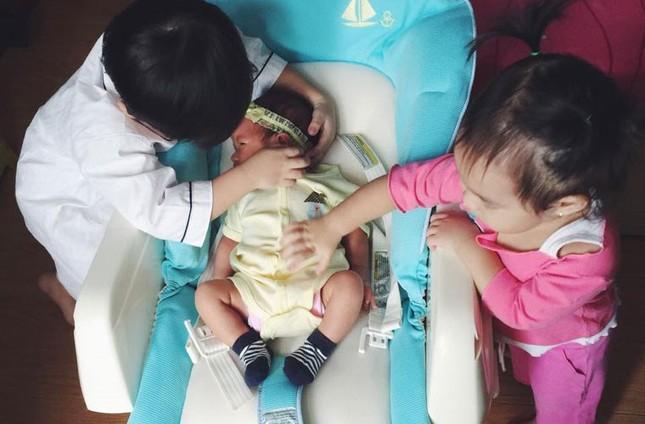Vẻ đáng yêu của 3 thiên thần nhà Lý Hải - Minh Hà - anh 12