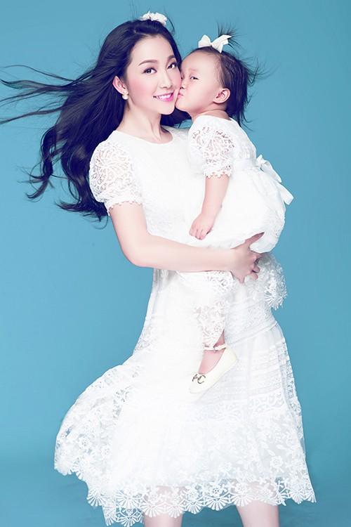 Vẻ đẹp thiên thần của Linh Nga và con gái - anh 3