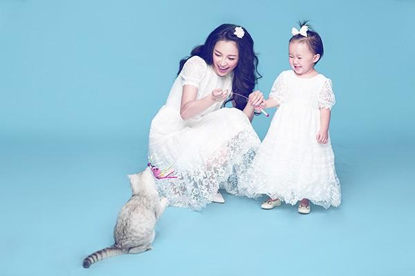 Vẻ đẹp thiên thần của Linh Nga và con gái - anh 4