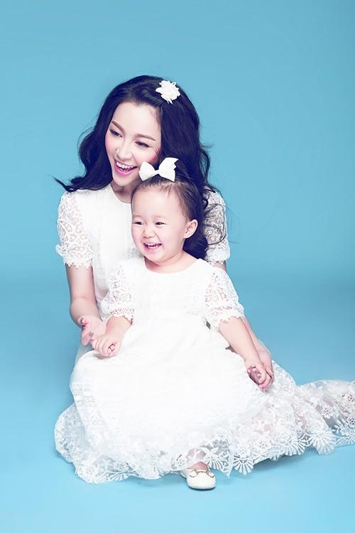 Vẻ đẹp thiên thần của Linh Nga và con gái - anh 5