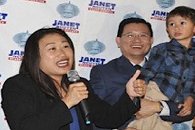 Người phụ nữ gốc Việt đầu tiên giành ghế thượng nghị sĩ bang ở Mỹ - anh 2