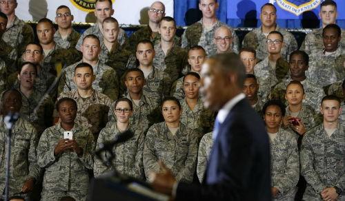 """Thượng nghị sĩ Mỹ: Cuộc chiến chống IS là """"bất hợp pháp"""" - anh 2"""