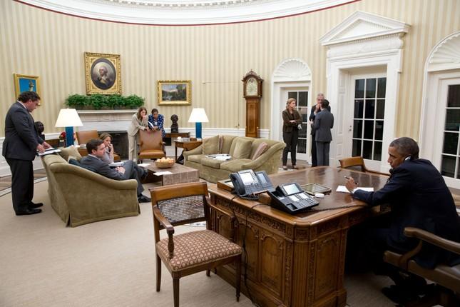 Toàn cảnh hoạt động của ông chủ Nhà Trắng năm 2014 - anh 46