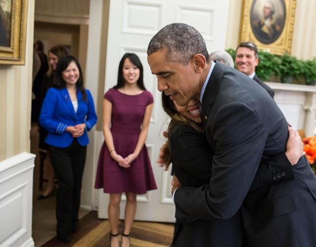 Toàn cảnh hoạt động của ông chủ Nhà Trắng năm 2014 - anh 47