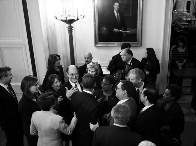 Toàn cảnh hoạt động của ông chủ Nhà Trắng năm 2014 - anh 4