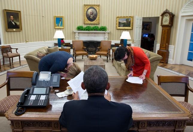 Toàn cảnh hoạt động của ông chủ Nhà Trắng năm 2014 - anh 5