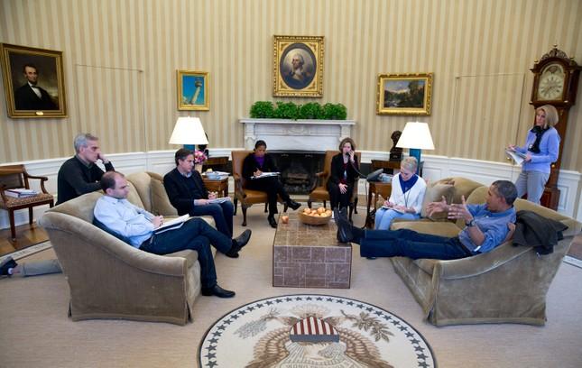 Toàn cảnh hoạt động của ông chủ Nhà Trắng năm 2014 - anh 7