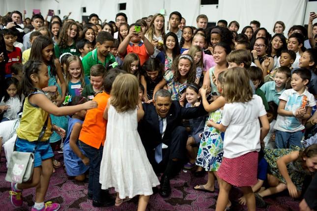 Toàn cảnh hoạt động của ông chủ Nhà Trắng năm 2014 - anh 19