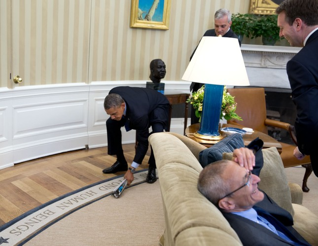 Toàn cảnh hoạt động của ông chủ Nhà Trắng năm 2014 - anh 20
