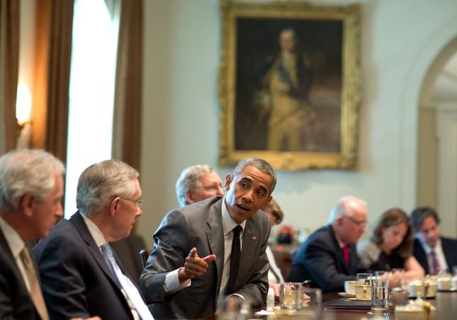 Toàn cảnh hoạt động của ông chủ Nhà Trắng năm 2014 - anh 36