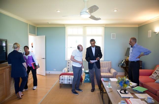 Toàn cảnh hoạt động của ông chủ Nhà Trắng năm 2014 - anh 37