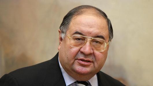 Tỷ phú Alisher Usmanov mất ngôi giàu nhất nước Nga - anh 1