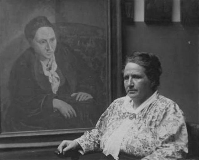 """Pablo Picasso và bí ẩn tác phẩm """"Chân dung Gertrude Stein"""" nổi tiếng - anh 3"""