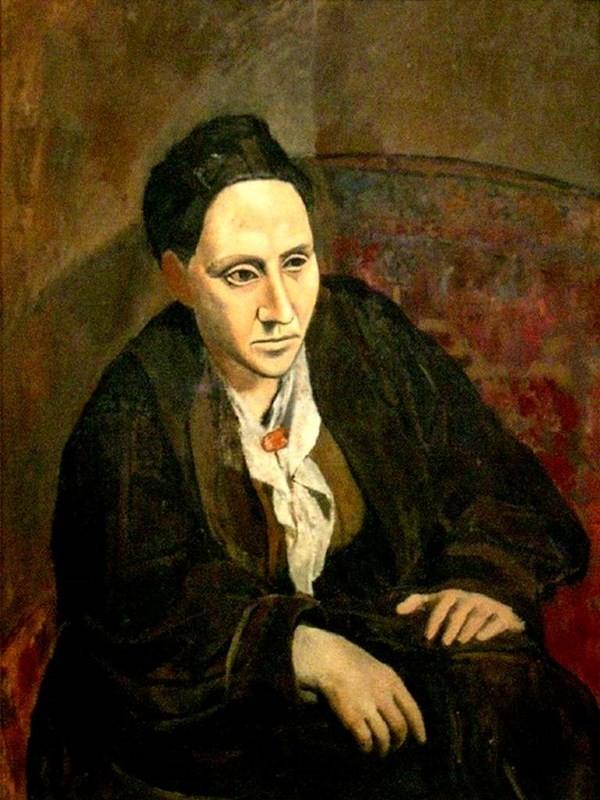 """Pablo Picasso và bí ẩn tác phẩm """"Chân dung Gertrude Stein"""" nổi tiếng - anh 2"""