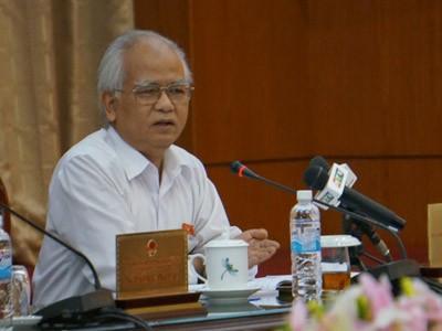 Chủ tịch Quốc hội Nguyễn Sinh Hùng: Làm sai là vi hiến - anh 2