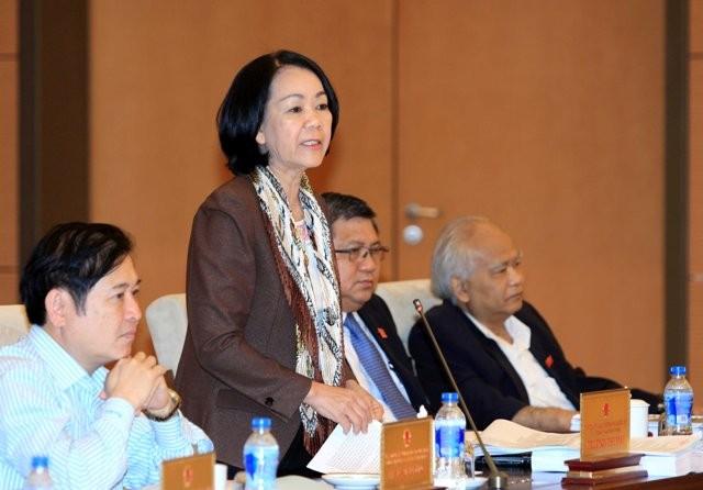 Chủ tịch Quốc hội Nguyễn Sinh Hùng: Làm sai là vi hiến - anh 3