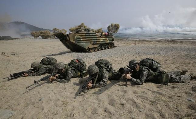 Lo ngại chương trình hạt nhân Triều Tiên, Mỹ - Hàn lập mưu đối phó - anh 1