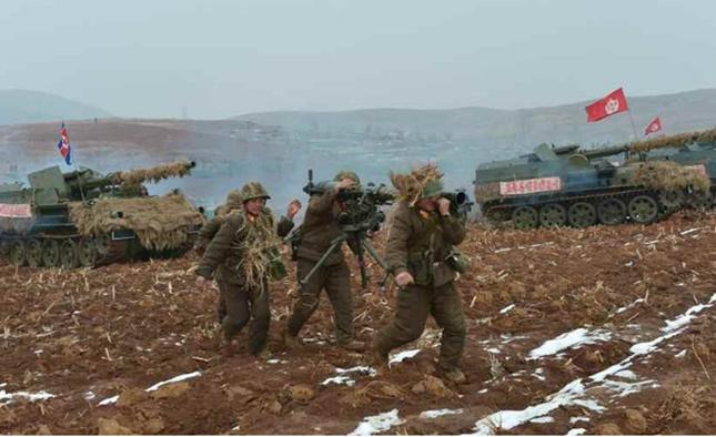 Kim Jong-un lệnh quân đội Triều Tiên sẵn sàng 'đáp trả' Hàn Quốc - anh 1
