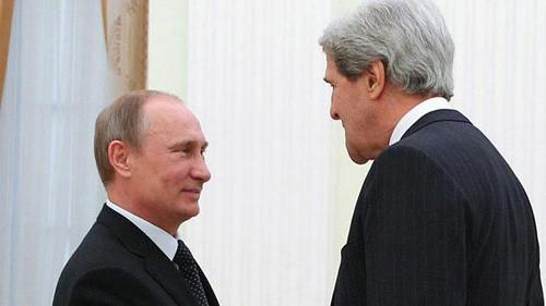 Tổng thống Putin tiếp Ngoại trưởng Mỹ: Nga - Mỹ sắp làm hòa? - anh 1