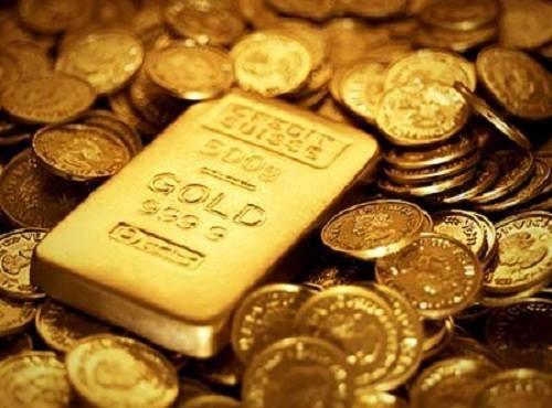Giá vàng hôm nay 18/5: Vàng tiếp tục đà tăng khi USD suy yếu - anh 1