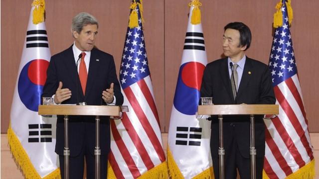 """Mỹ-Hàn lập liên minh vững chắc """"đấu"""" với Triều Tiên - anh 2"""