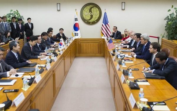 """Mỹ-Hàn lập liên minh vững chắc """"đấu"""" với Triều Tiên - anh 1"""