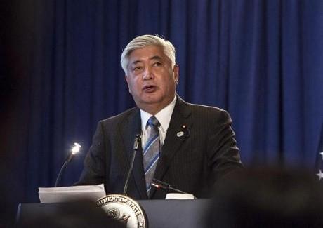 Nhật dọa tấn công Triều Tiên, bênh vực Mỹ - anh 1