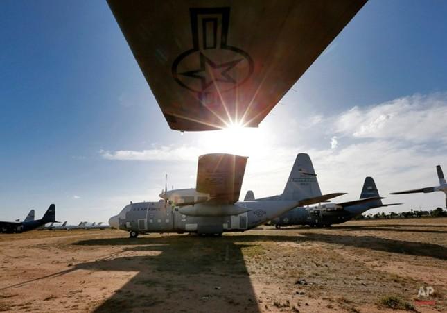 Nghĩa địa máy bay quân sự lớn nhất thế giới - anh 3