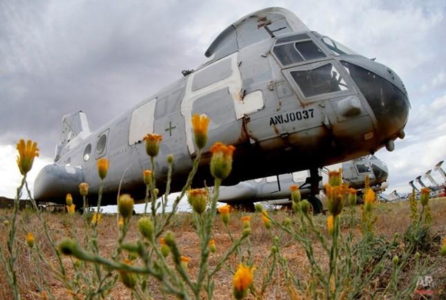 Nghĩa địa máy bay quân sự lớn nhất thế giới - anh 6