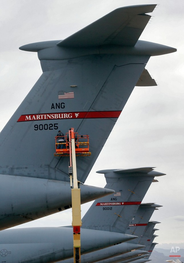 Nghĩa địa máy bay quân sự lớn nhất thế giới - anh 9