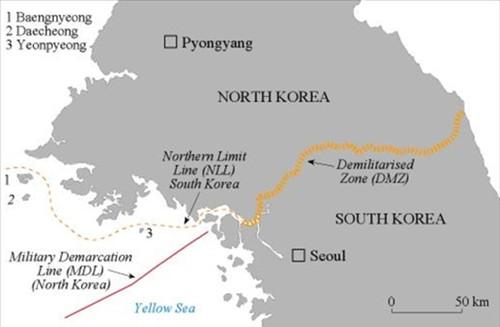 Hàn Quốc tố Triều Tiên xây căn cứ quân sự trên đảo biên giới - anh 2