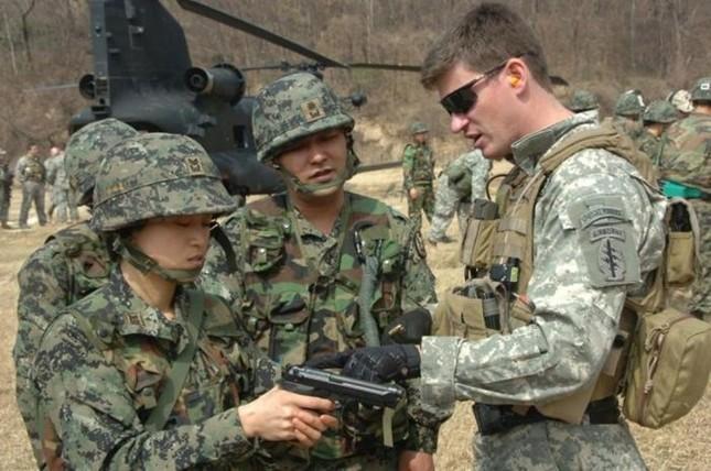 Hàn-Mỹ lập liên quân đầu tiên trên thế giới đối phó Triều Tiên - anh 1