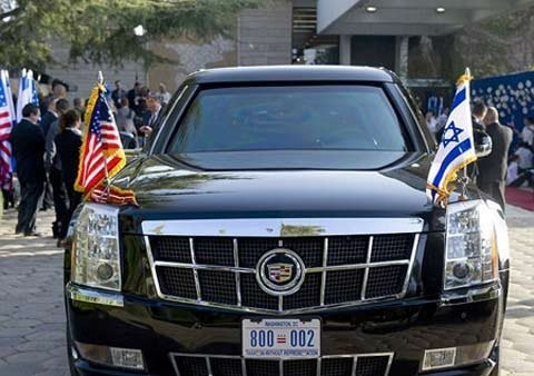 """Khám phá chiếc xe """"Quái vật"""" của Tổng thống Obama - anh 2"""
