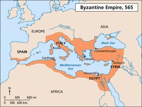 Bí ẩn đế chế Byzantine hùng mạnh bậc nhất lịch sử nhân loại - anh 1
