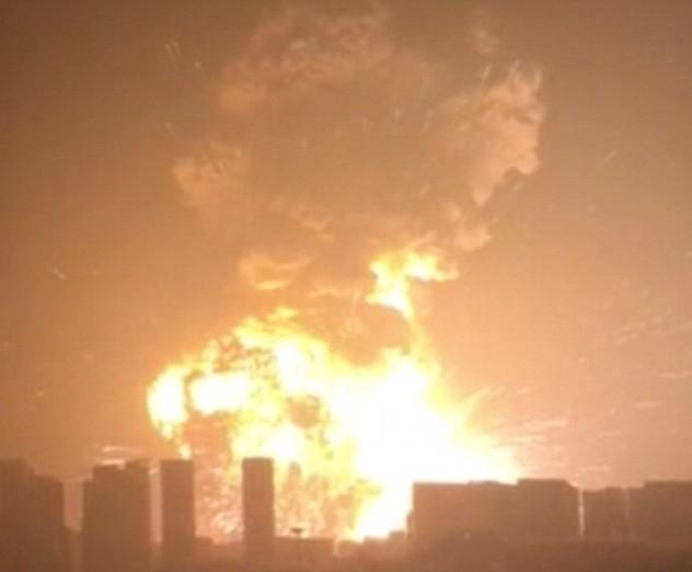 Trung Quốc: Nổ lớn rung chuyển khu công nghiệp, hơn 400 người thương vong - anh 1