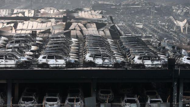 Trung Quốc: Nổ lớn rung chuyển khu công nghiệp, hơn 400 người thương vong - anh 4